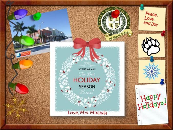 IB Christmas Card