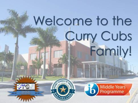 Welcome to the Curry Cubs Family!